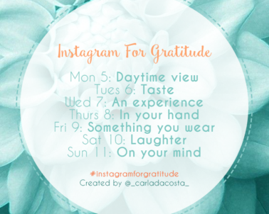 What Is Instagram For Gratitude?
