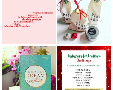 Instagram For Gratitude – Christmas Giveaway